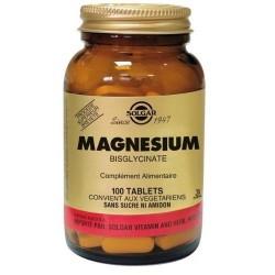 Solgar - Magnesio Quelado - Relajante y Antiestrés - 100 Comprimidos