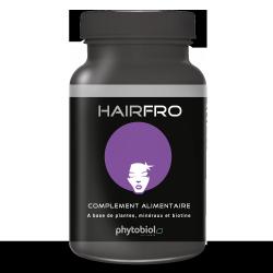 HairFro - Återväxtsbehandling för svart hår - 100 kapslar Hårväxt Multivitamin System