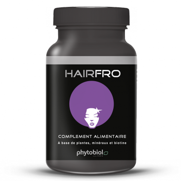 HairFro - Hair Regrowth Treatment for Black Hair - 100 Capsules Hair Growth Multivitamin Complex