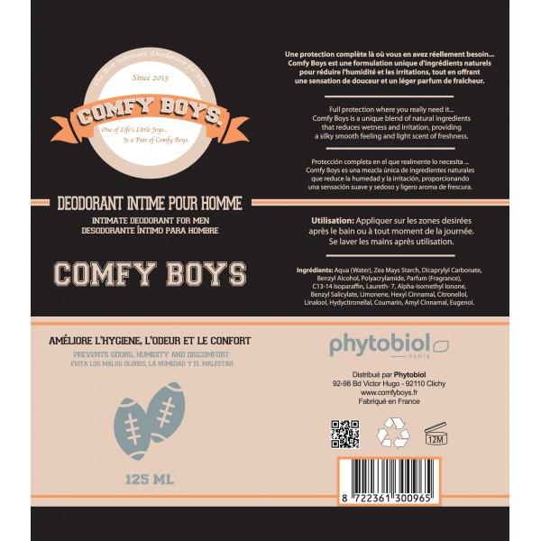 comfy boys d odorant intime pour homme 120ml. Black Bedroom Furniture Sets. Home Design Ideas