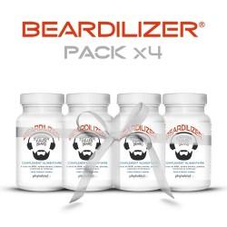 Beardilizer - Accélérateur de Pousse de Barbe - 90 capsules