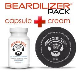 Pack Beardilizer Cápsulas y Crema