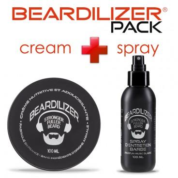 Pack Beardilizer Spray und Creme