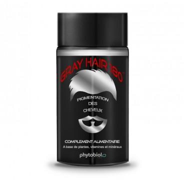 GrayHair 180 - Anti White Hair - 60 Capsules