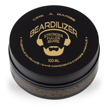 Beardilizer Wax - Naturlig Skjeggvoks - 100ml
