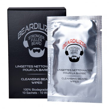 Cleansing Wipes for Skjegg Beardilizer